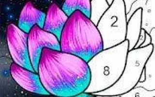 Скачать Chamy — раскраска по номерам на андроид v.1.9